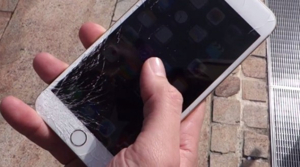 Image from : http://www.geek.com/apple/iphone-6-drop-tests-prove-hard-things-break-expensive-gadgets-1604921/
